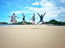 Jump Shot at Bantigue Sandbar