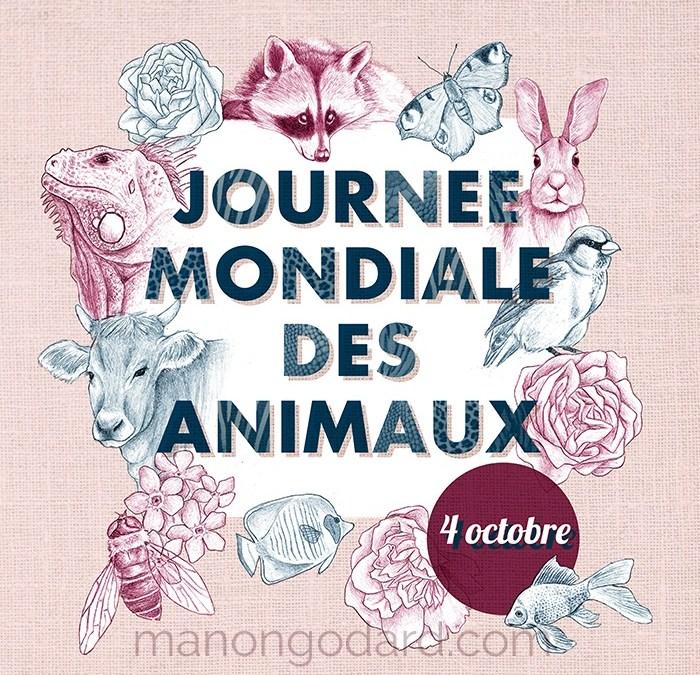 Illustration pour la Journée Mondiale des Animaux (+ making-of en vidéo)
