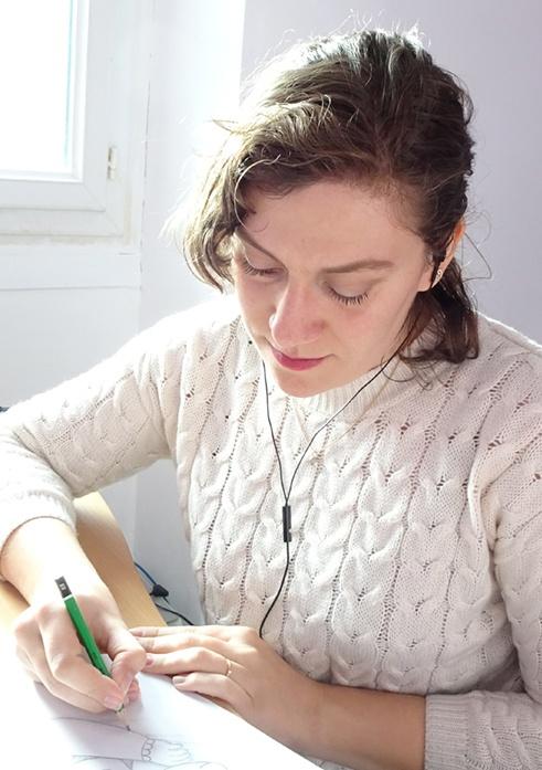 Manon Godard, graphiste, webdesigner et illustratrice pour les