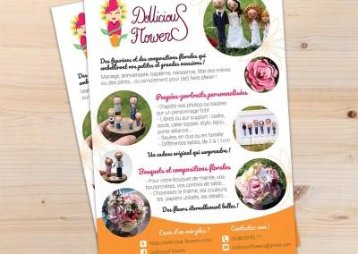 Flyer pour Dollicious Flowers