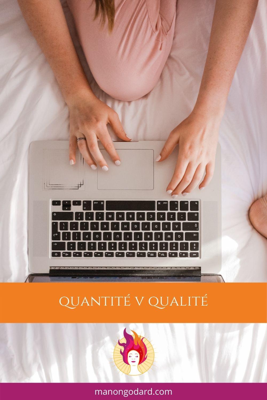 Quantité contre qualité