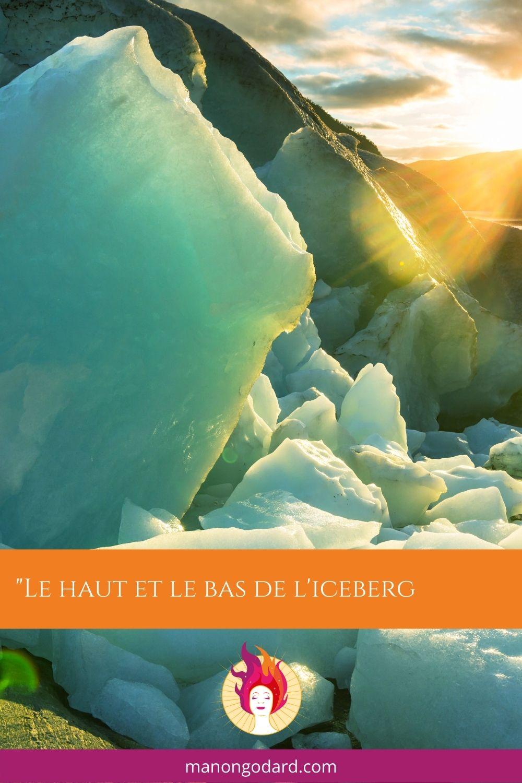 Le haut et le bas de l'iceberg ✨