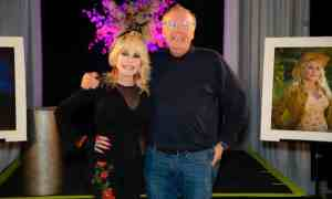 Dolly Parton with James Patterson