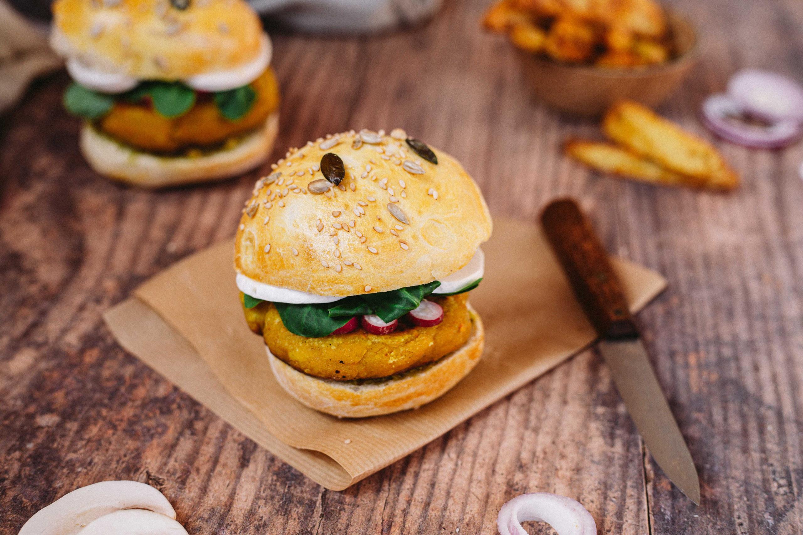 burger-vegetarien-lentilles-corail