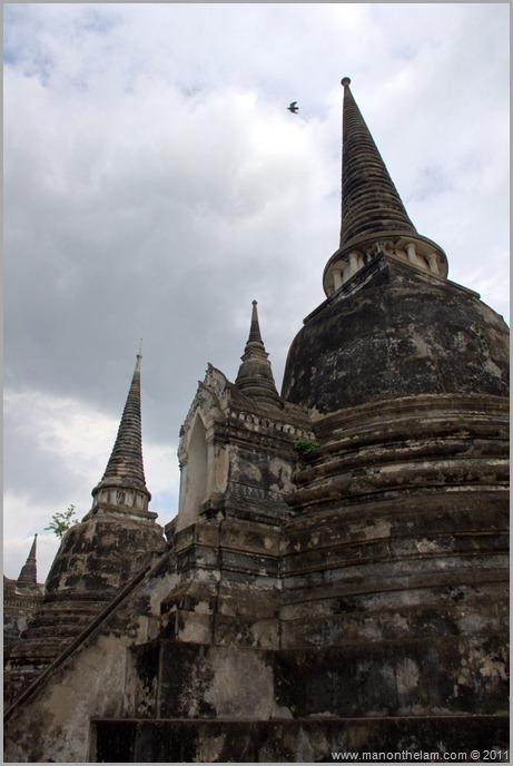 Ayutthaya Wat Phra Si Sanphet stupa