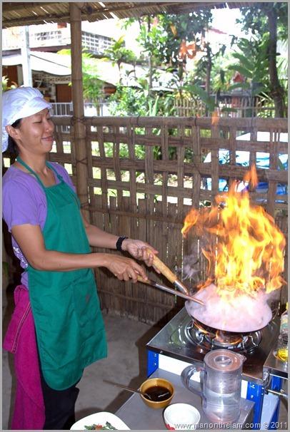 Lek Cooking, Thai Cooking Class, Pai Thailand