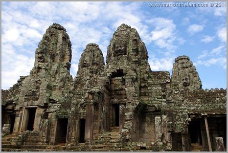 Avalokeshvara faces, Bayon, Angkor, Cambodia