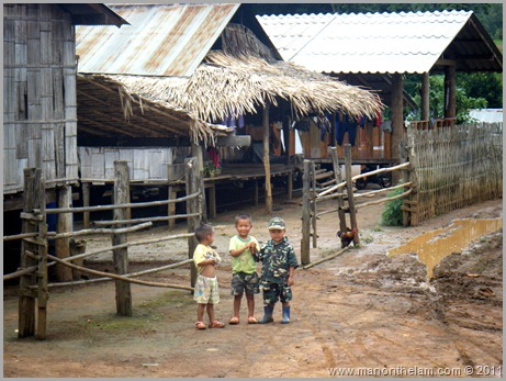 Northern Thailand Hill Tribe Children