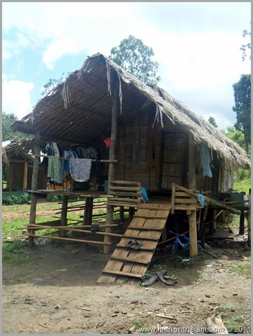 Northern Thailand Hill Tribe Home