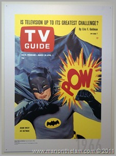 Batman TV Guide poster, , San Francisco airport museum