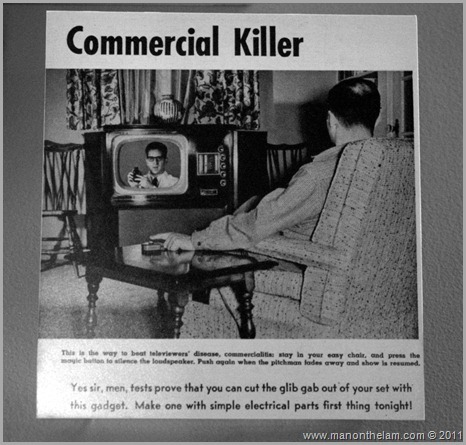 Commerical Killer remote control ad, , San Francisco airport museum