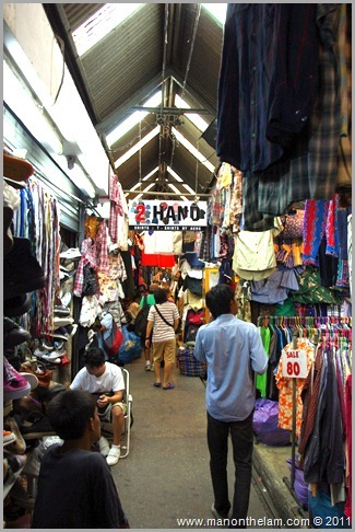 Chatuachak market Bangkok