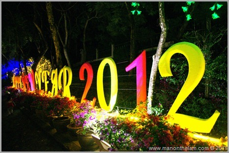 Happy New Year 2012, Trang Thailand Best of Travel 2011 Photo