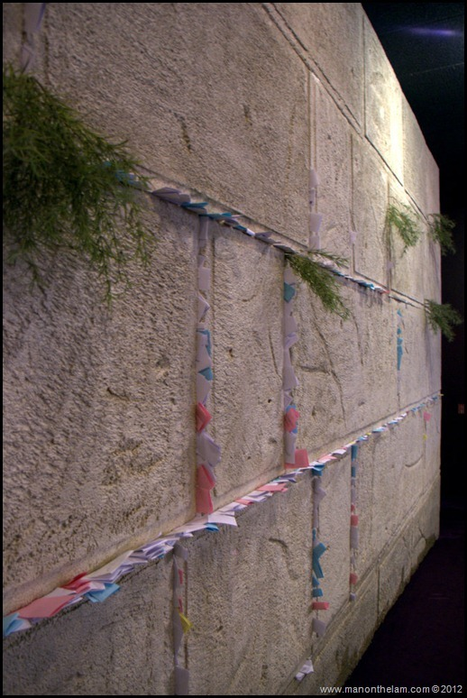 The Wailing Wall, Western Wall notes, Kotek -- The Holy Land Experience, Orlando, Florida