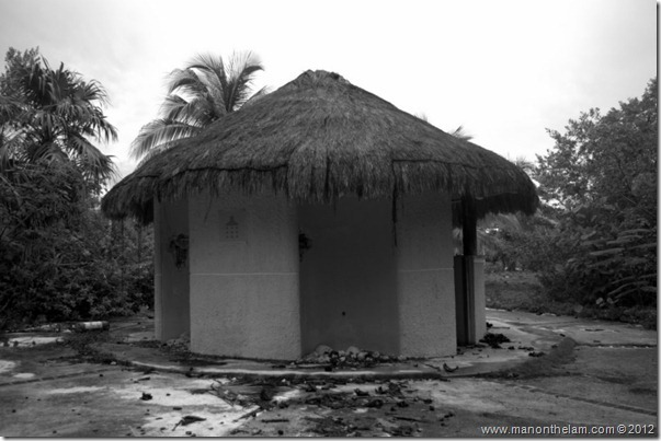 Abandoned Beach Resort, Club Tulum, Xpulha, Riviera Maya, Mexico 193