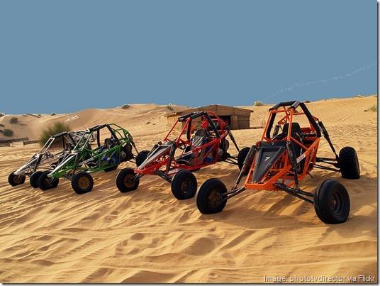Desert Dune buggy tour, Dubai, United Arab Emirates