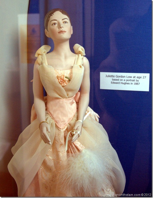 Juliette Gordon Low doll -- Denver Museum of Miniatures, Dolls and Toys