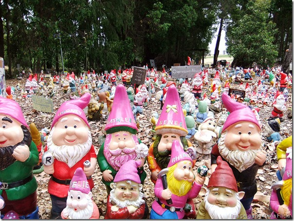 The Gnomes of Gnomesville, Western Australia