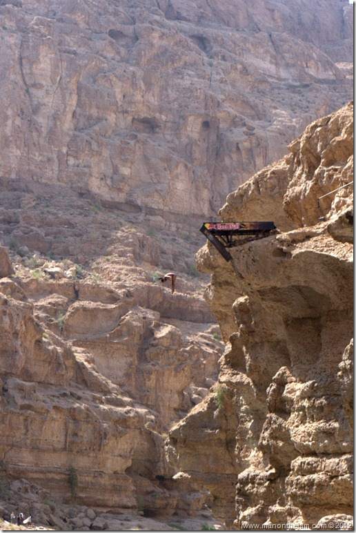 Red Bull Cliff Diving World Series 2012, Wadi Shab, Oman 021