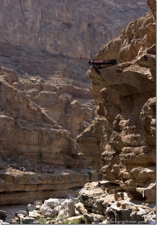 Red Bull Cliff Diving World Series 2012, Wadi Shab, Oman 027