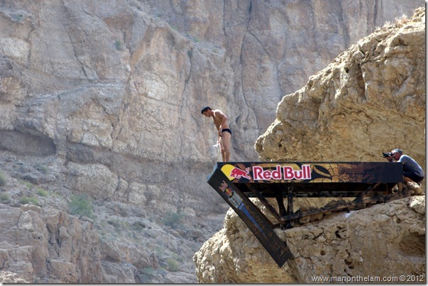 Red Bull Cliff Diving World Series 2012, Wadi Shab, Oman 035