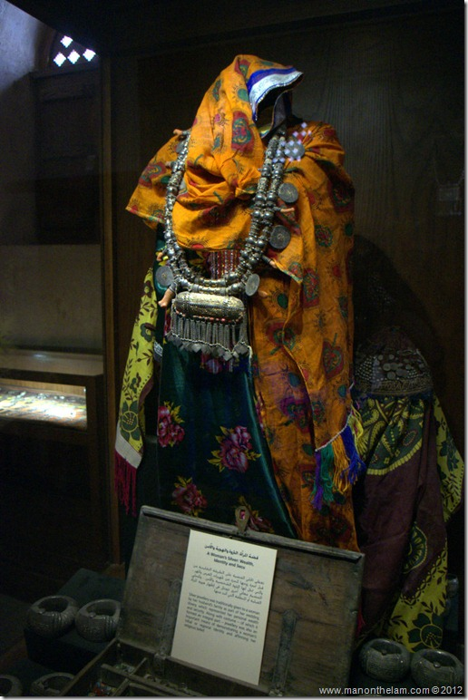 Traditional Omani dress