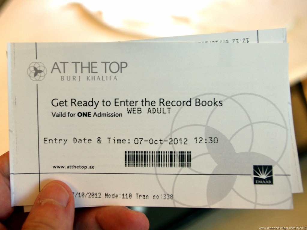 At The Top Tickets Burj Khalifa Tallest Building In The