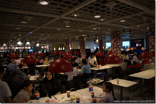 Ikea Cafeteria, Dubai IKEA, shopping in Dubai, UAE