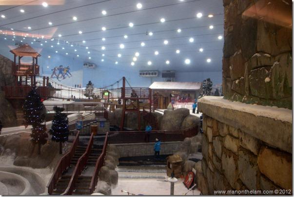 Interior of Ski Dubai, United Arab Emirates