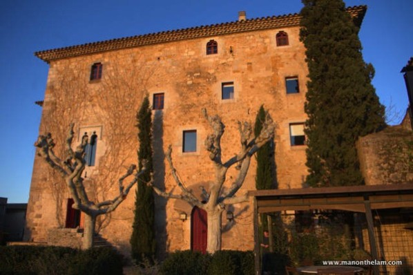 luxury villas in Spain for rent -- Castell de St. Mori