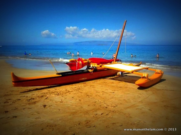 Hawaiian Traditional Sailing Canoe unique unusual offbeat quirky things to do in Maui Hawaii