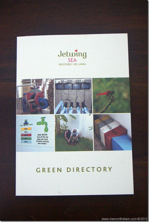 Jetwing Sea Hotel Green Directory, Negombo, Sri Lanka