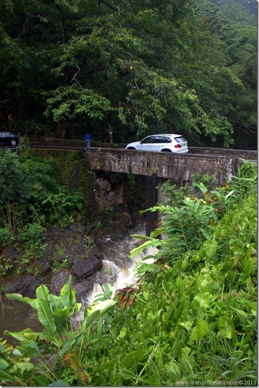 One of the 59 bridges on the Road to Hana, Maui