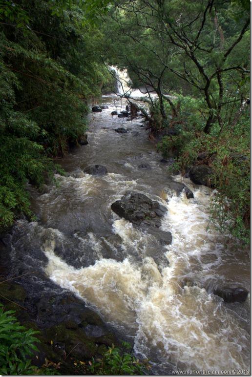 River along the Road to Hana #seeMaui