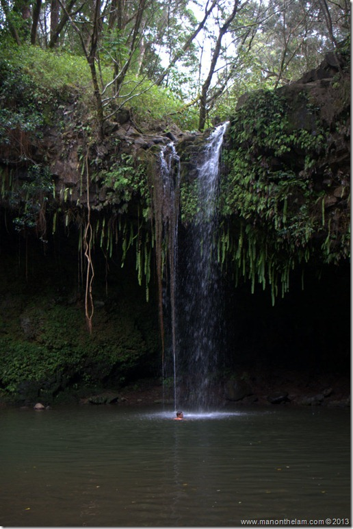 Twin Falls, Road to Hana, Maui, Hawaii