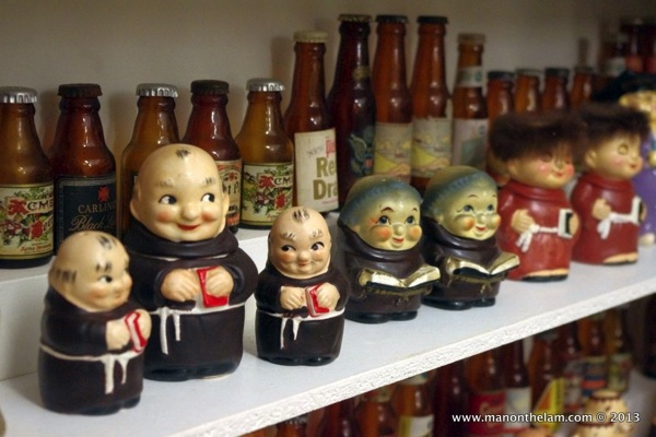 Monks and beer Museum of Salt and Pepper Shakers Guadalest Spain