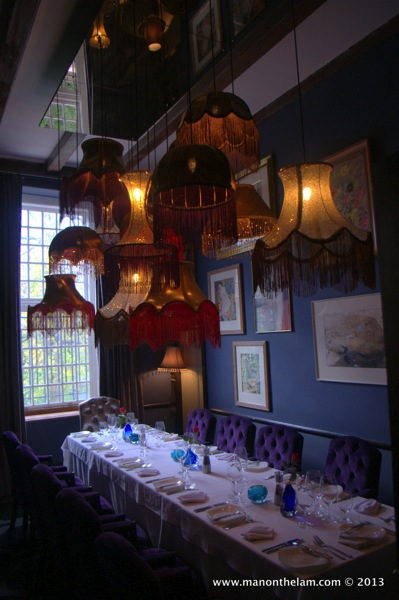 lampshade room Alphen Cape Hotel