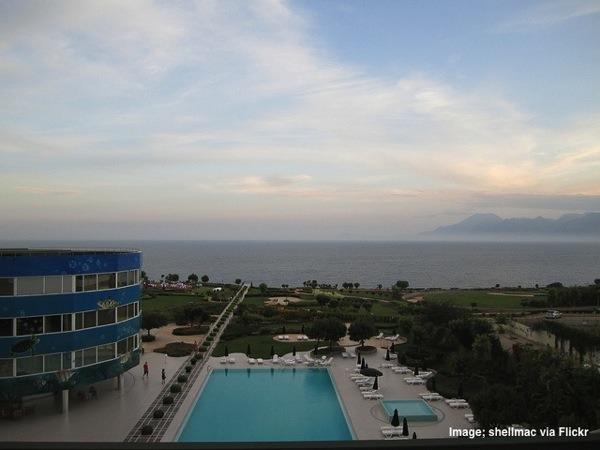Marmara Antalya Hotel Antalya Turkey rotating hotel