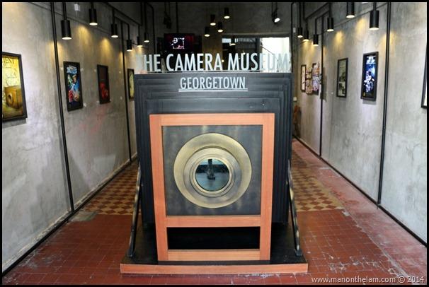 Penang Camera Museum, George Town, Penang, Malaysia -- entrance
