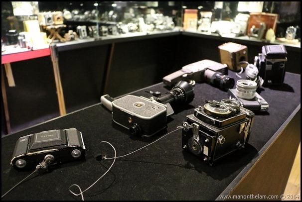 Penang Camera Museum, George Town, Penang, Malaysia -- vintage film cameras