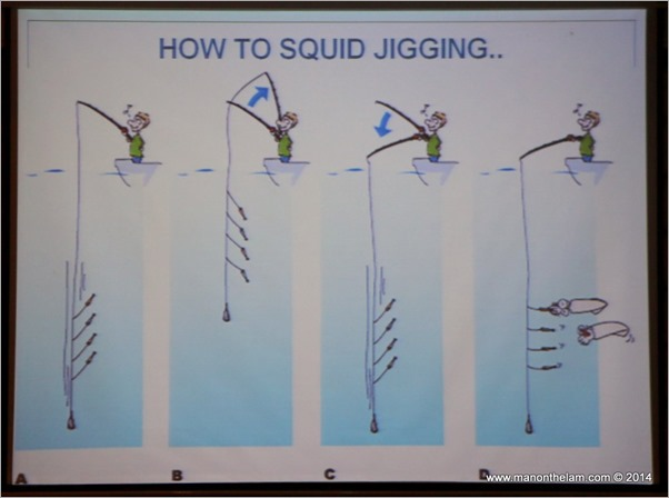 Terengganu, Malaysia Squid Jigging Festival April 2014 how to squid jig