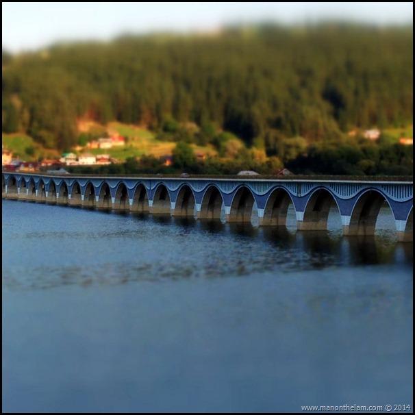 Bicaz Bridge, Neamt County, Romania #priNeamt