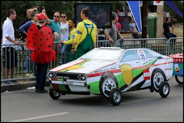 Red Bull Soapbox Race Bucharest Romania-sports car design