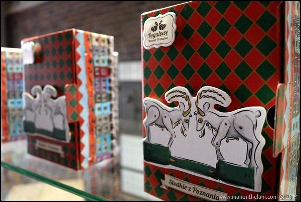 Poznan Croissant Museum, Poland gift boxed croissants