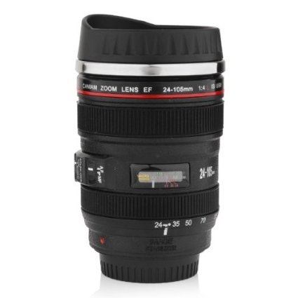 Camera Lens Mug Stocking Stuffers for Men Christmas gift ideas