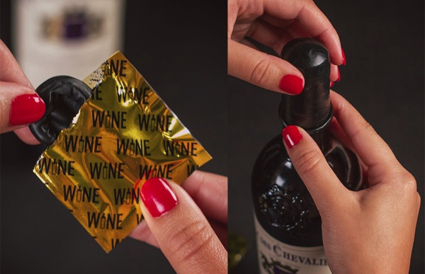 Wine Condoms Stocking Stuffers for Men Christmas gift ideas