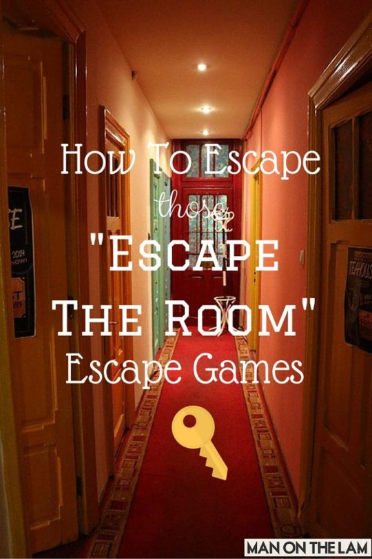 How To Escape Those - Escape the Room - Escape Games