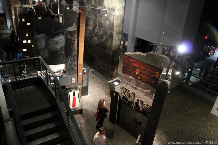 Warsaw Uprising Museum, Poland displays