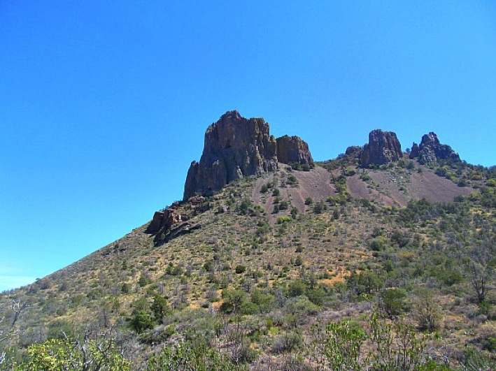 Big Bend Chisos Mountains Hike Traveling Ted Top 100 Travel Blog Posts of 2014 by Social Shares