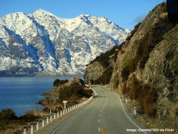 Beautiful New Zealand<br /><br /> Lake Hawea